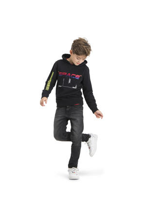 skinny jeans Anzio Black dark grey vintage