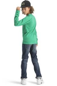 Vingino longsleeve Jasto met tekst fris groen, Fris groen