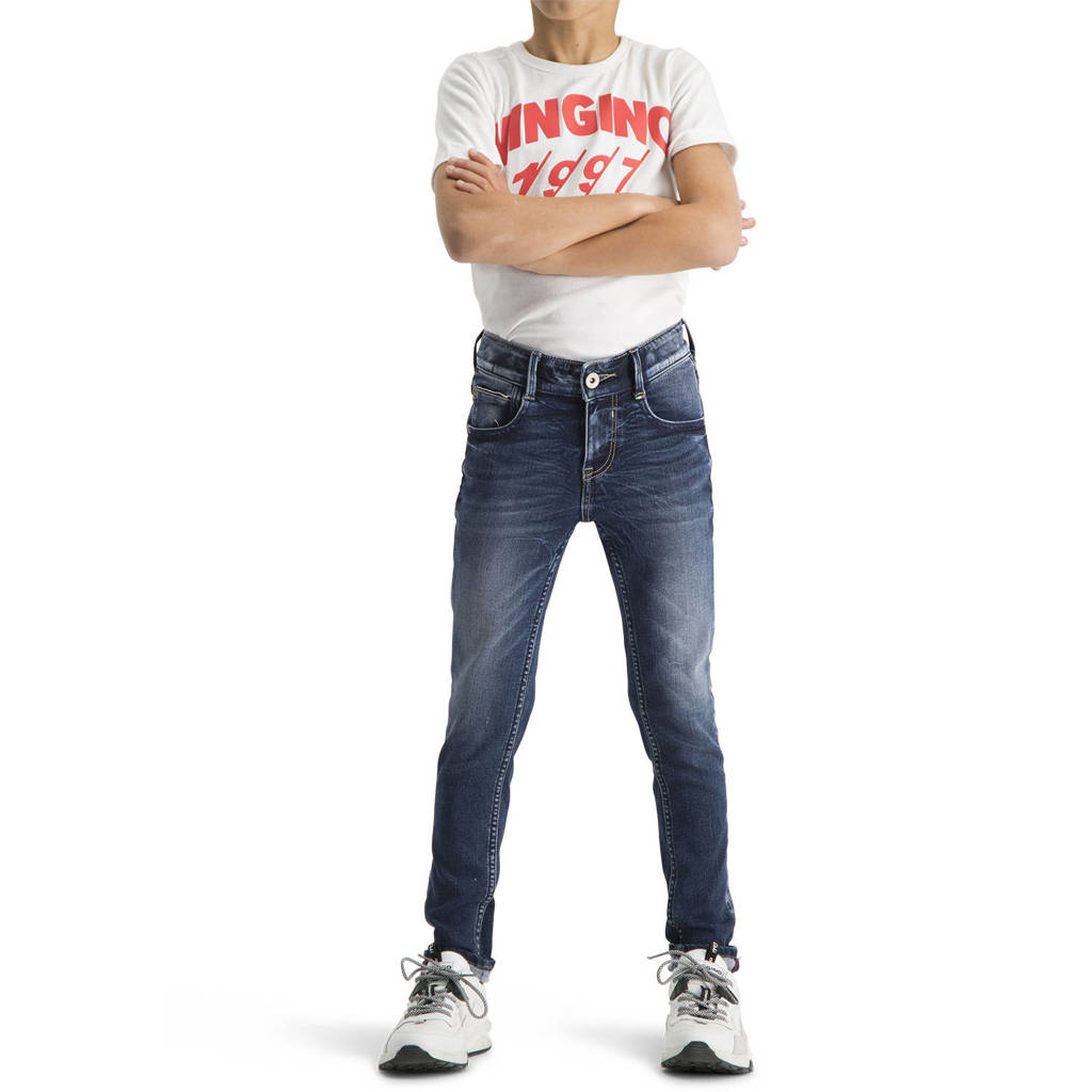 Vingino skinny jeans Amos blue vintage