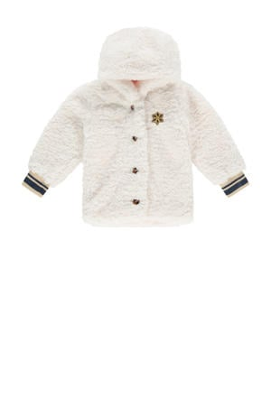 teddy winterjas Tera mini offwhite