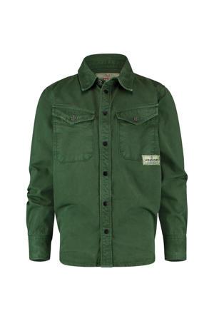 overhemd Leos groen