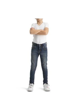 skinny jeans Alfons mid blue wash
