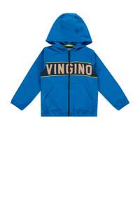 Vingino vest Melo mini met logo blauw, Blauw