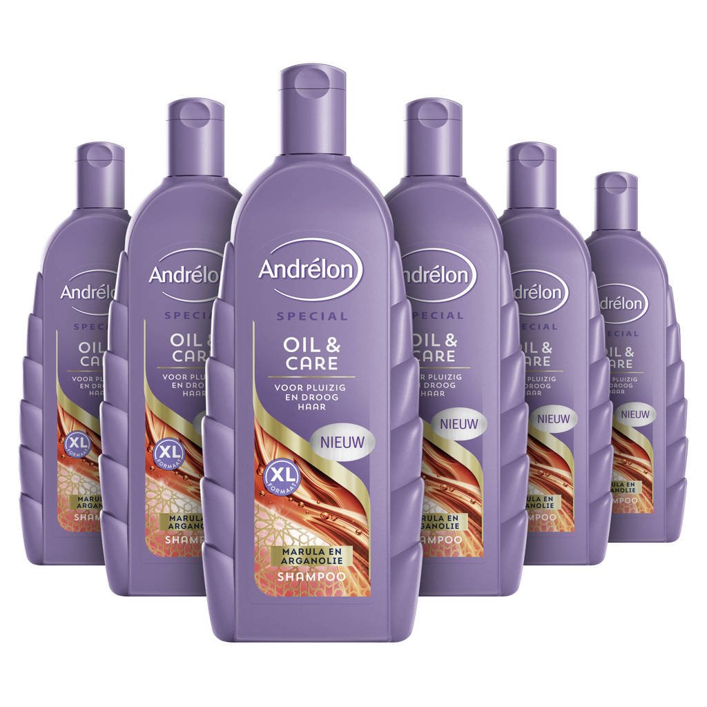 Andrelon Special Oil & Care shampoo - 6 x 450 ml