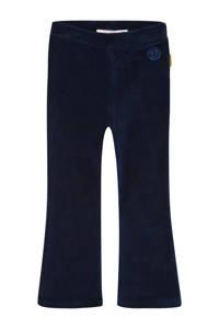 Vingino fluwelen flared broek Sarien mini donkerblauw, Donkerblauw