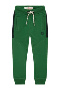 Vingino slim fit joggingbroek Sako mini met tekst groen, Groen