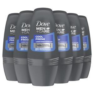 Men+Care Cool Fresh anti-transpirant roller - 6 x 50 ml