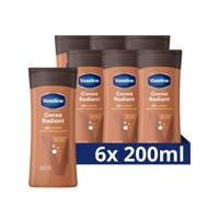 Vaseline Vaseline Cocoa Radiant Bodylotion  6 x 200 ml