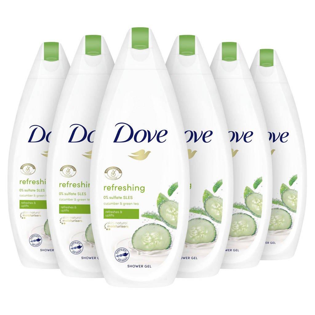Dove Go Fresh Fresh Touch douchecrème - 6 x 250 ml