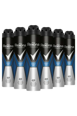 Men Cobalt Dry anti-transpirant spray - 6 x 250 ml
