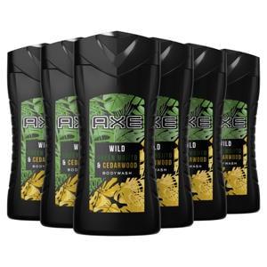 Wild Green Mojito & Cedarwood douchegel - 6 x 250 ml