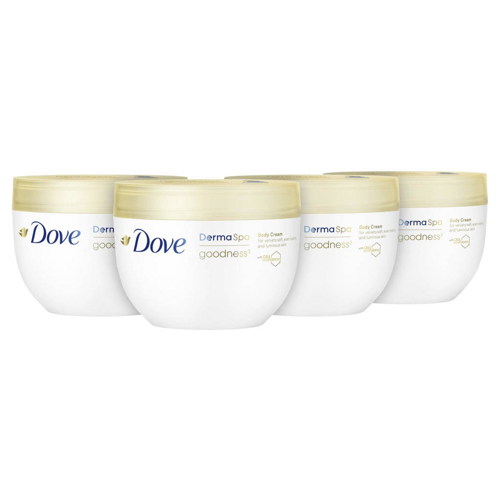 Dove DermaSpa Goodness body crème 4 x 300 ml