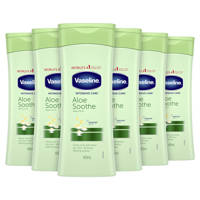 Vaseline Aloe Soothe body lotion - 6 x 400 ml