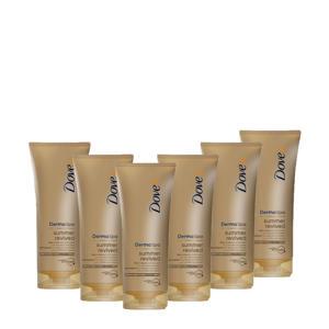 DermaSpa Summer Revived Fair body lotion - 6 x 200 ml