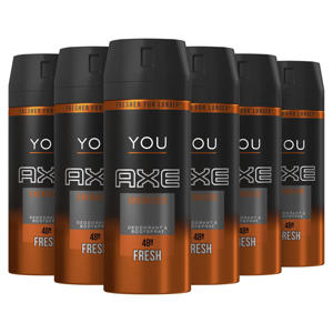 Energised bodyspray deodorant - 6 x 150 ml