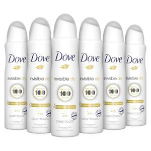 Invisible Dry anti-transpirant spray - 6 x 150 ml