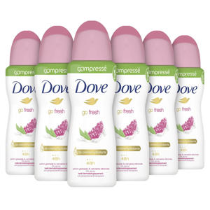 Go Fresh Pomegranate anti-transpirant spray - 6 x 75 ml
