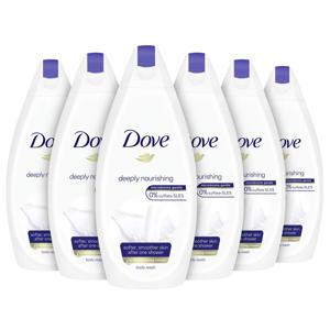 Deeply Nourishing douchecrème - 6 x 500 ml