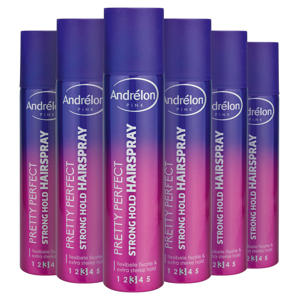 Pink Collection Pretty Perfect Strong Hold haarspray - 6 x 250 ml