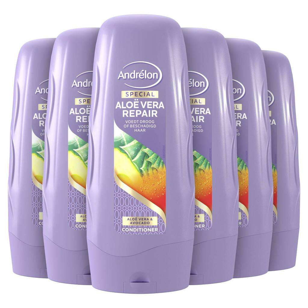 Andrelon Special Aloë Vera Repair Conditioner - 6 x 300 ml - Voordeelverpakking