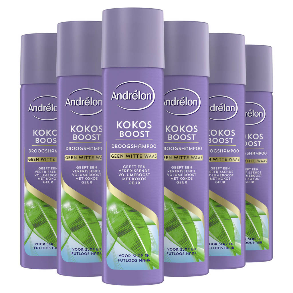 Andrelon Special Kokos Boost droogshampoo - 6 x 245 ml