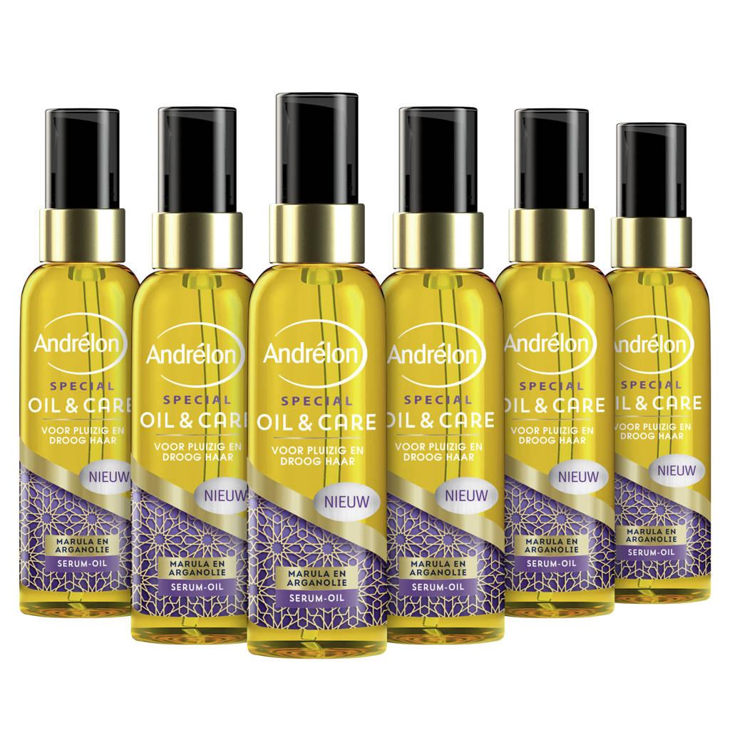 Andrelon Special Oil & Care serum - 6 x 75 ml