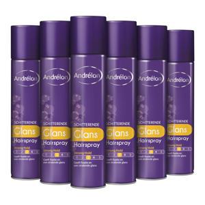 Styling Schitterende Glans haarspray - 6 x 250 ml