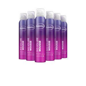 Pink Big Volume haarmousse - 6 x 200 ml