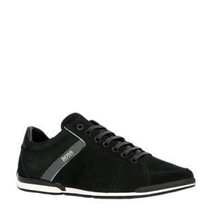 Saturn Low  suède sneakers zwart