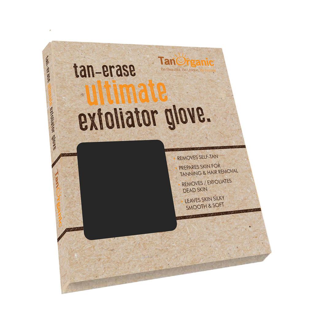 TanOrganic Tan Erase Exfoliater scrubhandschoen