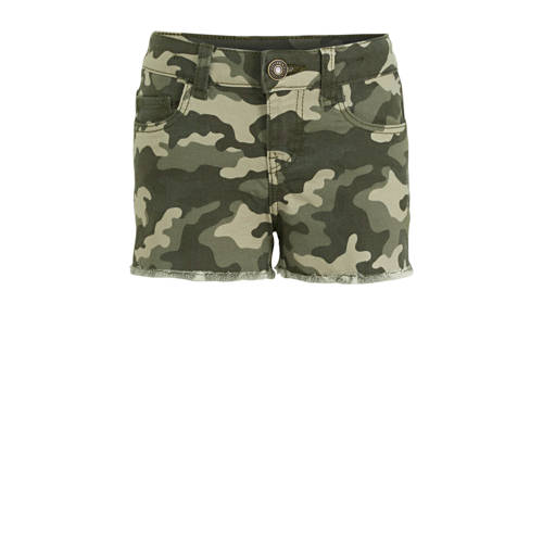 C&A Here & There short met camouflageprint