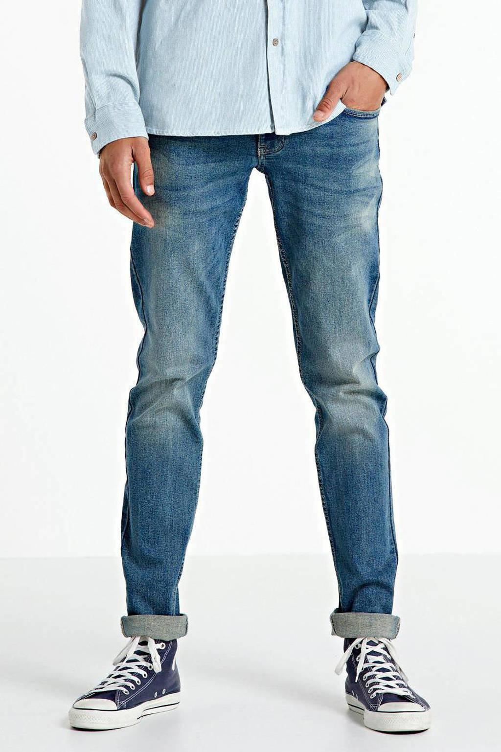 Redefined Rebel skinny jeans dusty blue, Dusty Blue