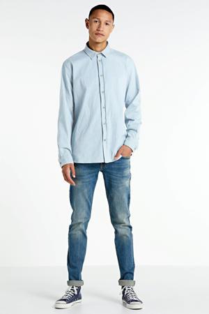 skinny jeans dusty blue