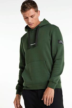 hoodie met biologisch katoen groen