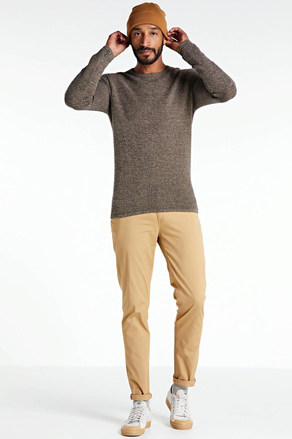Redefined Rebel gemêleerde trui beige, Beige
