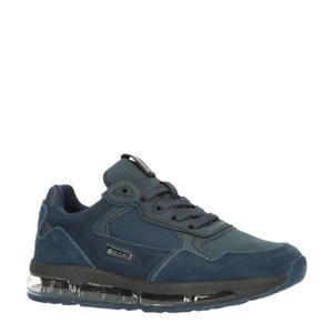 X500 TNL K  suède sneakers donkerblauw