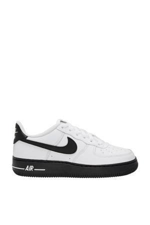 Air Force 1 leren sneakers wit/zwart