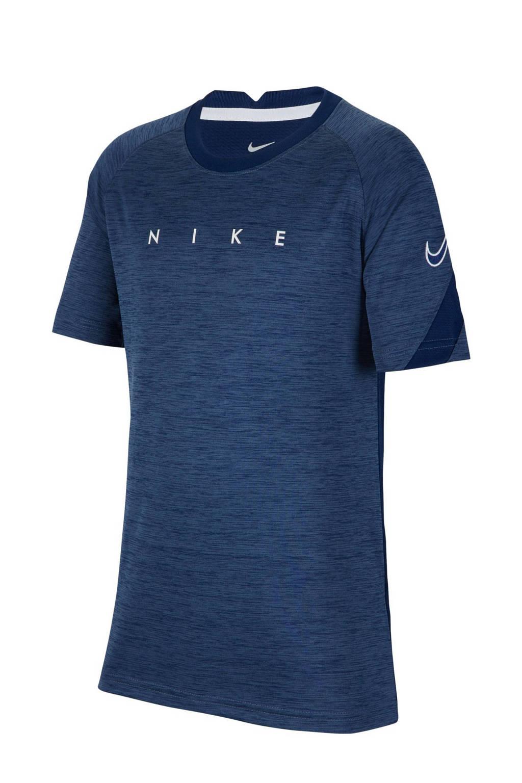 Nike Junior  voetbalshirt donkerblauw, Donkerblauw
