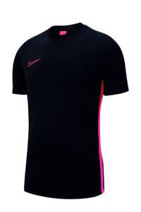 Nike   sport T-shirt zwart/roze, Zwart/roze