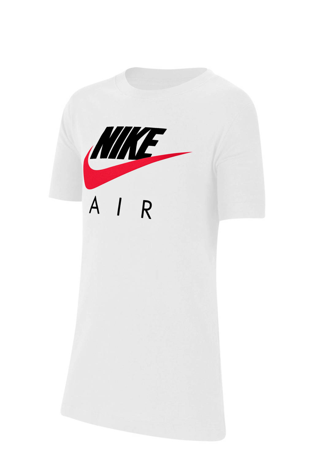 Nike T-shirt wit, Wit/rood