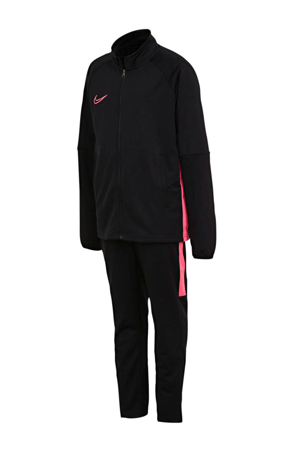 Nike Junior  trainingspak zwart/roze, Zwart/roze