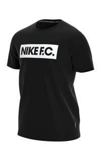 Nike   voetbalshirt zwart/wit, Zwart/wit