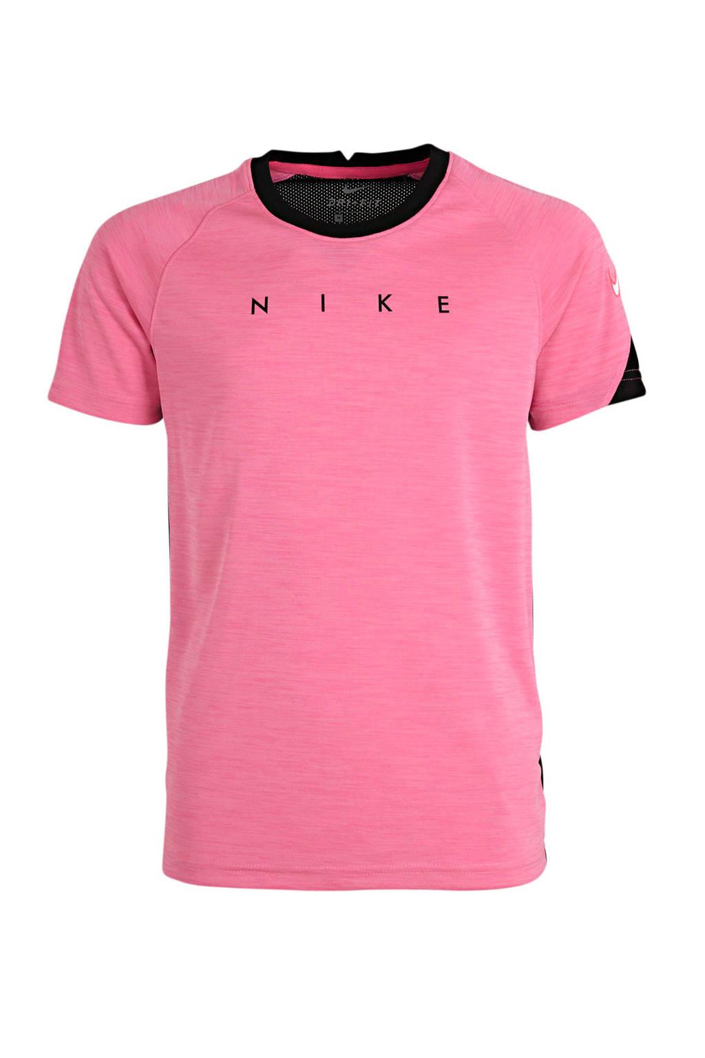 Nike Junior  voetbalshirt roze/zwart, Roze/zwart