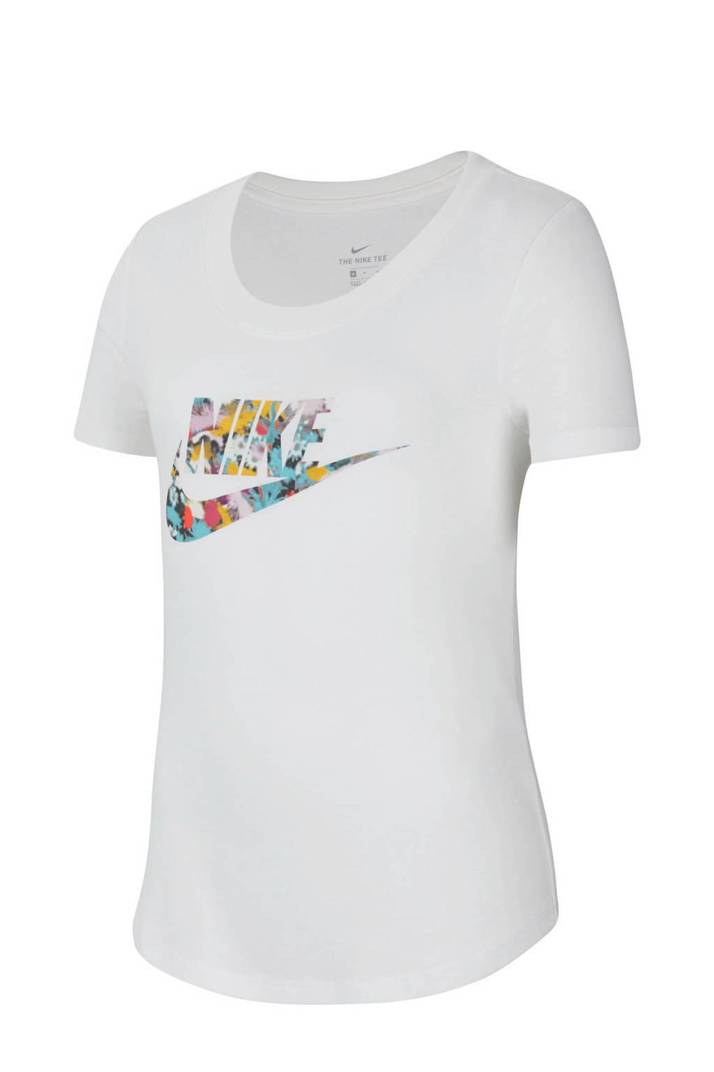 Nike T-shirt wit, Wit