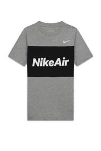 Nike T-shirt grijs/zwart, Grijs/zwart