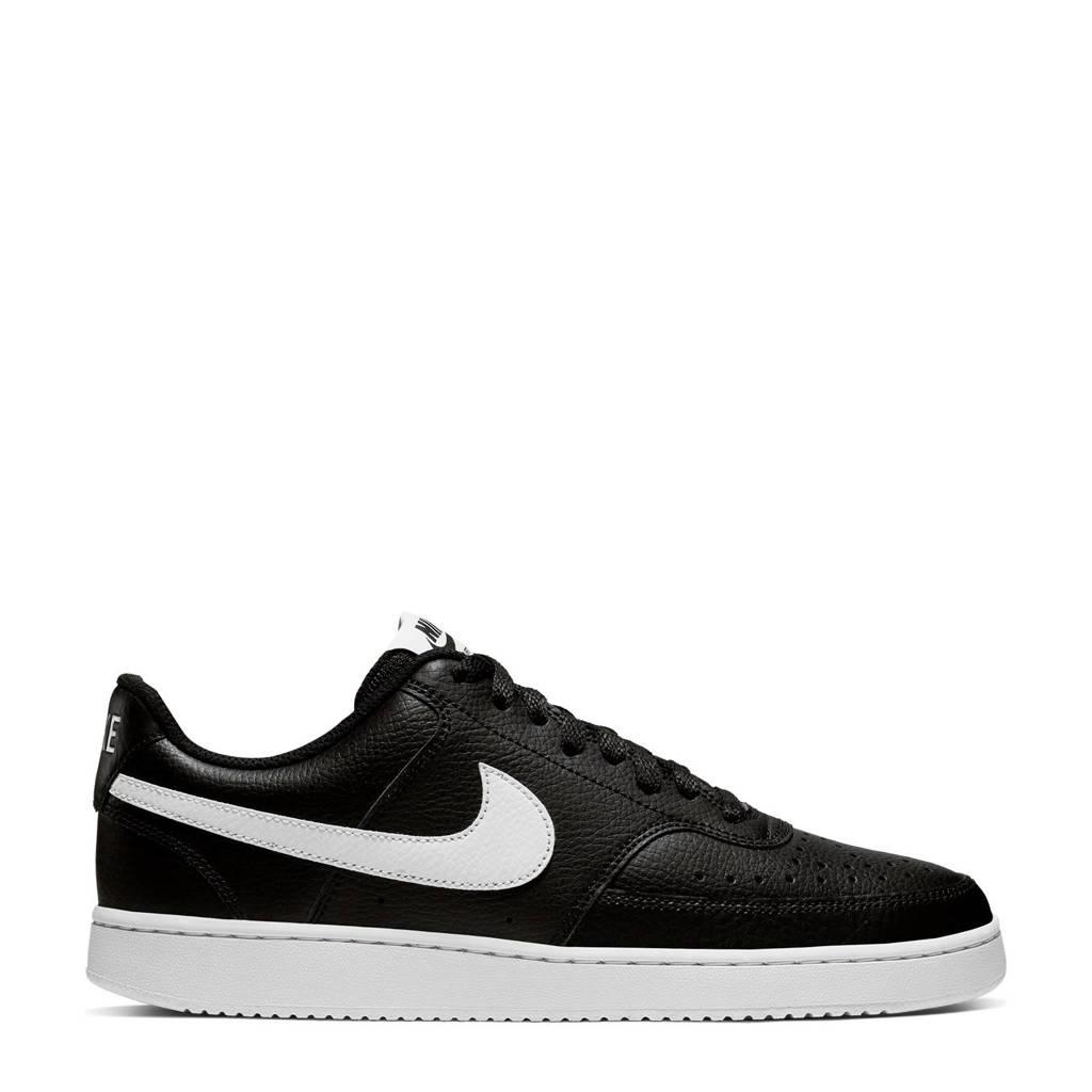 Nike Court Vision sneakers zwart/wit, Zwart/wit