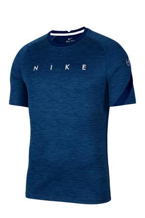 Senior  voetbalshirt donkerblauw