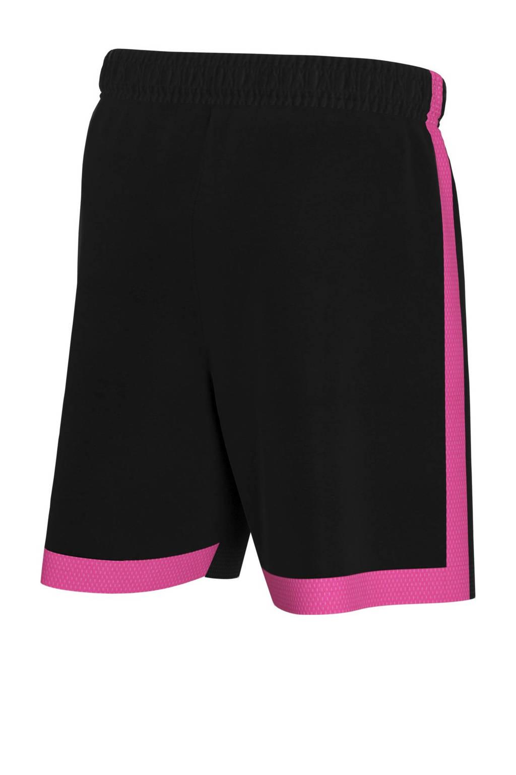 Nike Junior  voetbalshort zwart/roze, Zwart/roze