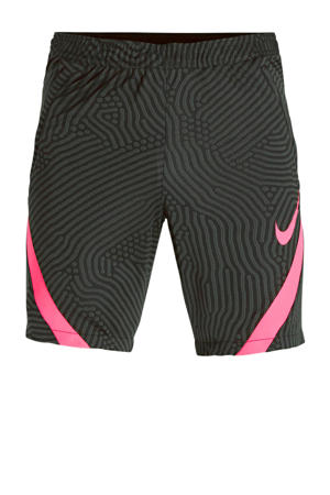 voetbalshort zwart/roze