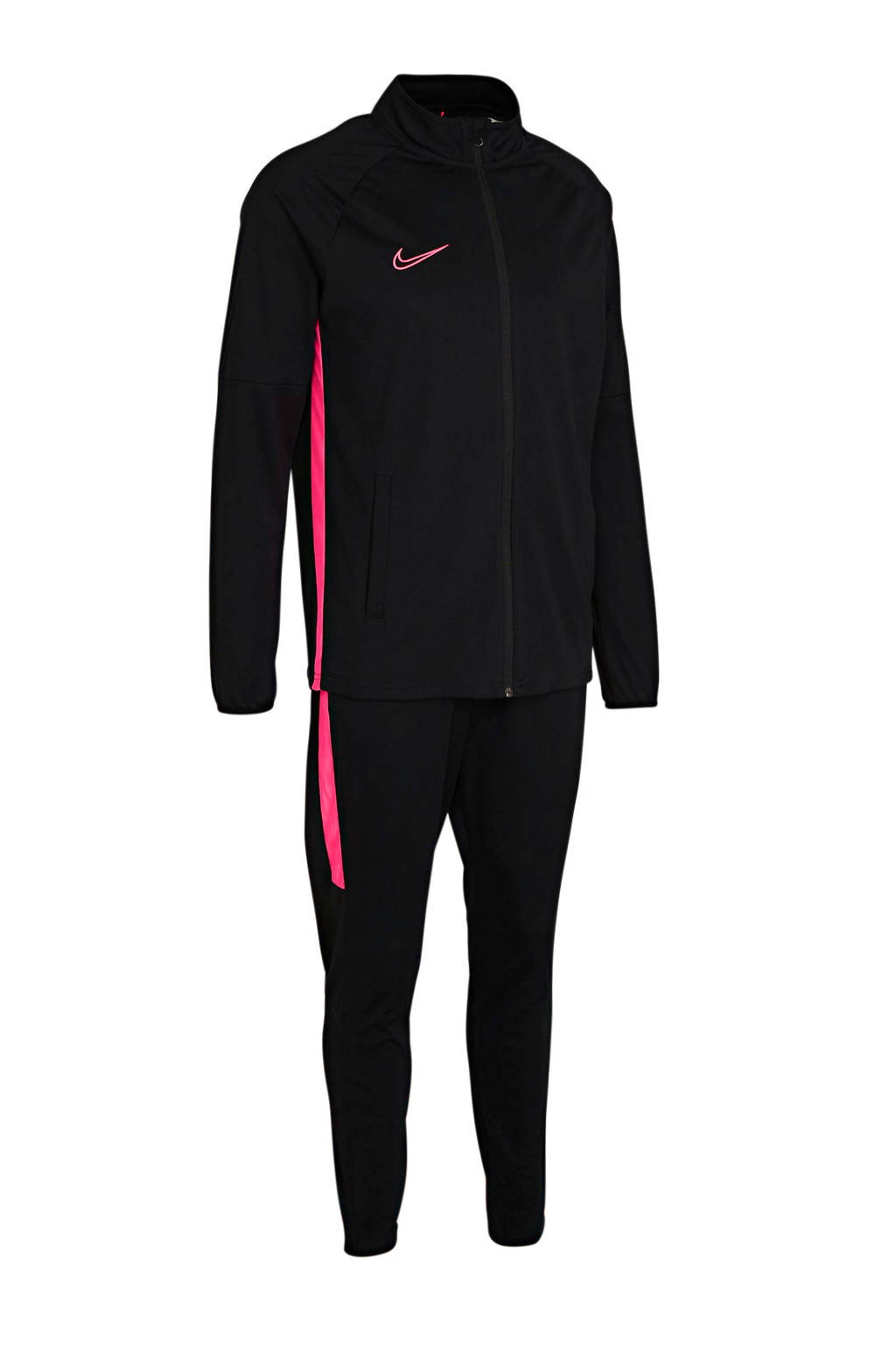 Nike Senior  trainingspak zwart/roze, Zwart/roze